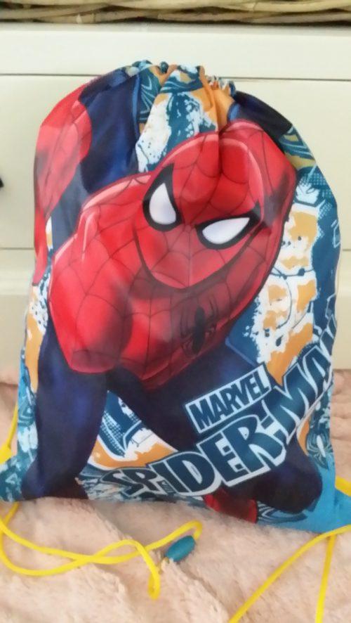 spiderman gym-/zwemtas