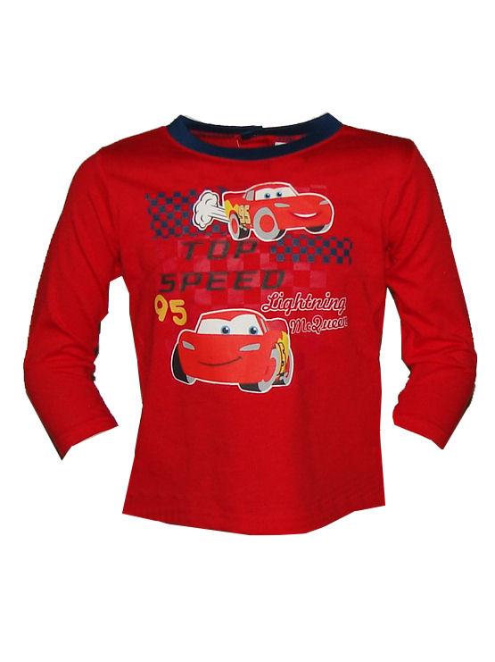 cars baby longsleeve rood