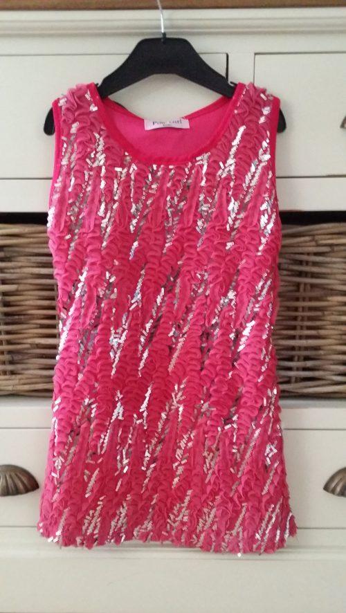jurk met pailletten