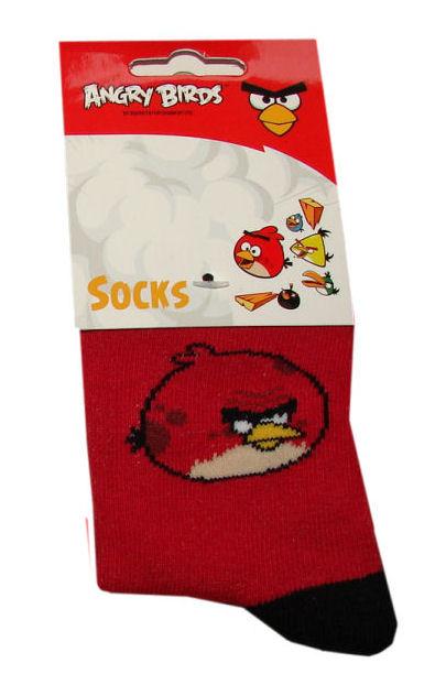 Angry Birds sokken rood