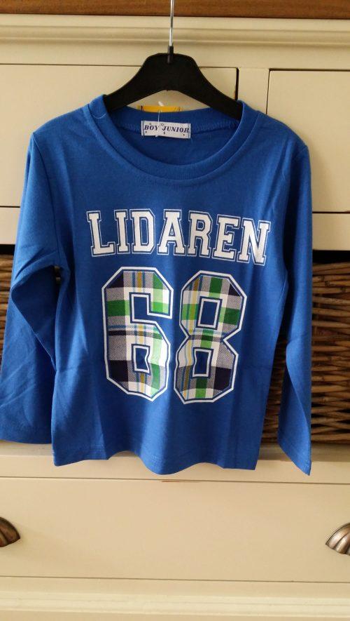 shirt lidaren 68 blauw