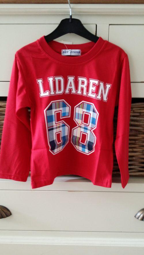 shirt lidaren 68 rood