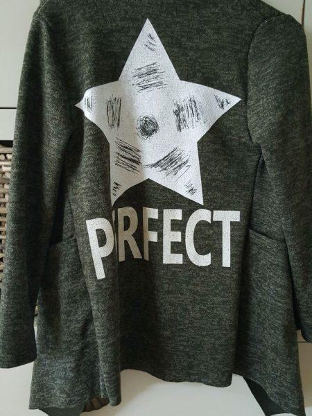 vest groen star perfect