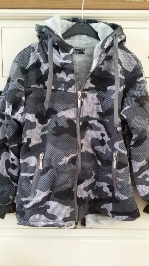 army vest/jas grijs