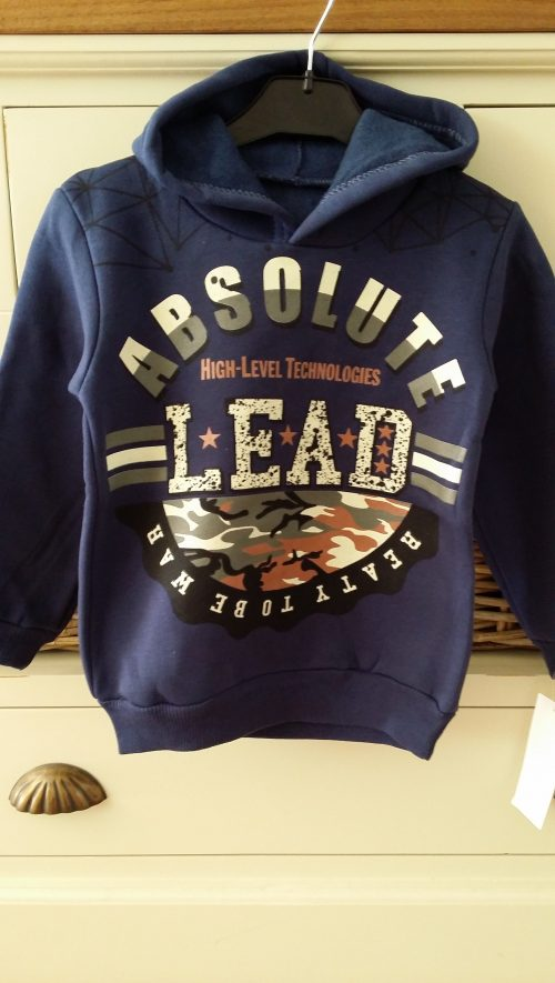 sweater absolute lead blauw
