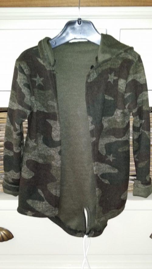camouflage vest groen unisex