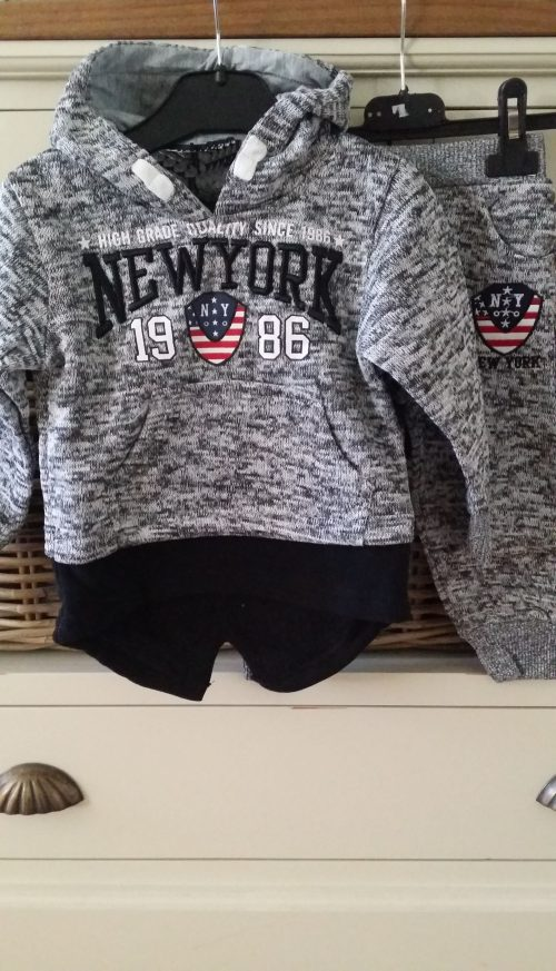 jogger sweater grijs