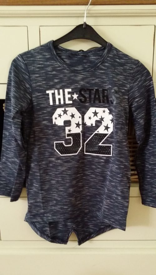 long shirt the*32 blauw