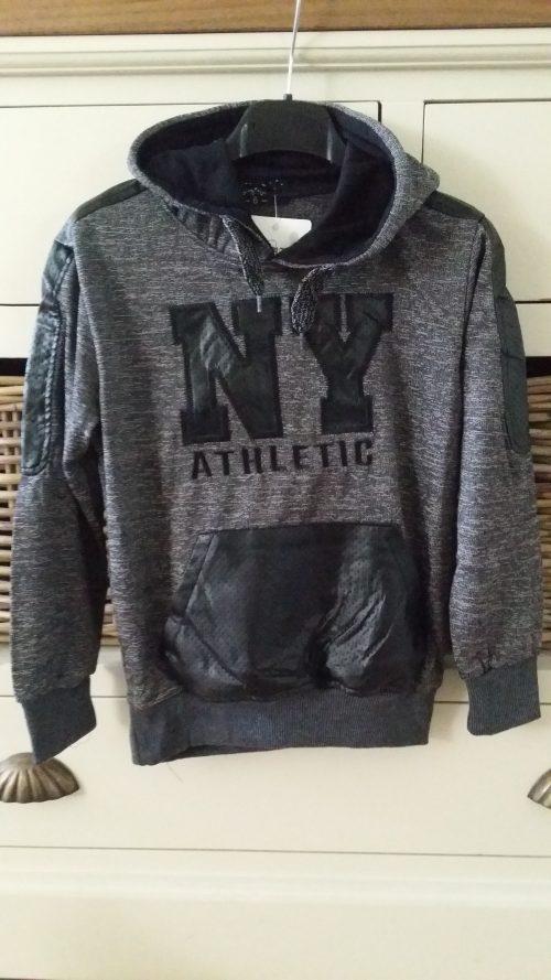 sweater new york antraciet