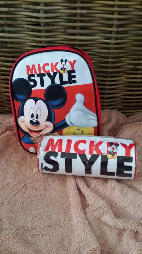 mickey mouse 2 delige set