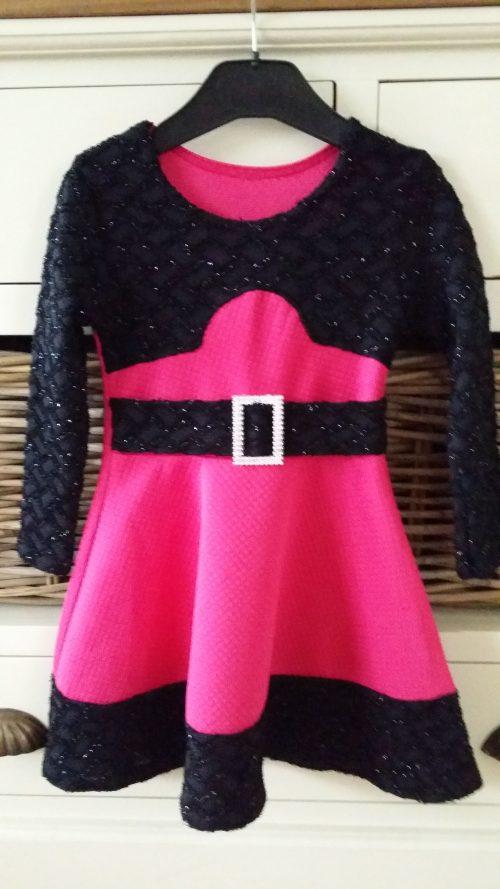jurk chic roze